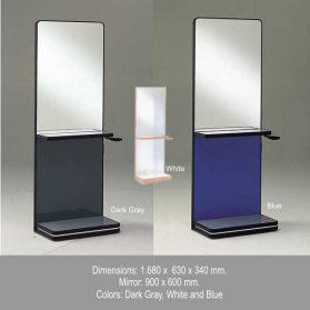 Unidade Espelho com Console Conjugado mod. Caribe