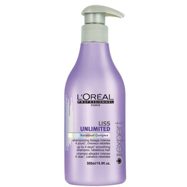 L'Oréal Liss Unlimited Shampoo 500 ml.