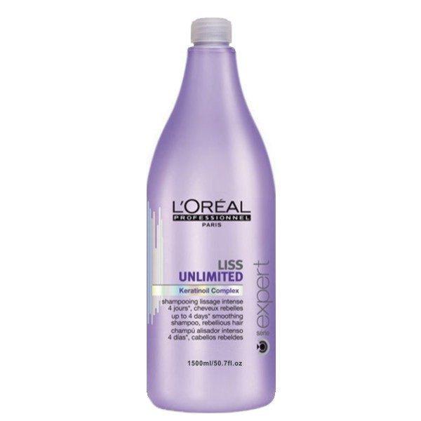 L'Oréal Liss Unlimited Shampoo 1.500 ml.