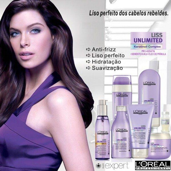 L'Oréal Liss Unlimited Máscara 500 ml.