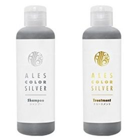 Ales Color Kit com Shampoo e Condicionador Silver