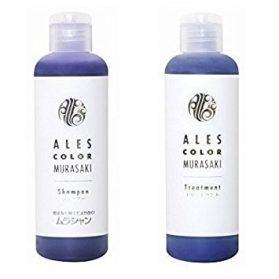 Ales Color Kit com Shampoo e Condicionador Roxo