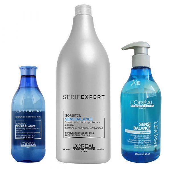 L'Oréal Sensi Balance Shampoo Anti-Queda/Caspa 300 ml.