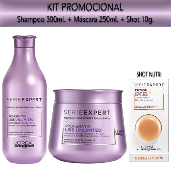 Kit Promocional Liss Unlimited
