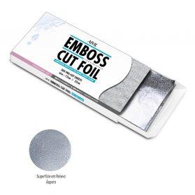 Aivil Papel Alumínio Pré-Cortado em Relevo 12x25cm. 300fls.